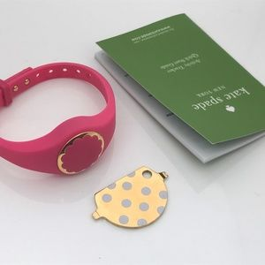 Kate Spade Scallop Women Activity Tracker Pink